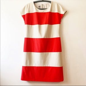 Anne Klein Color Block/Striped Dress